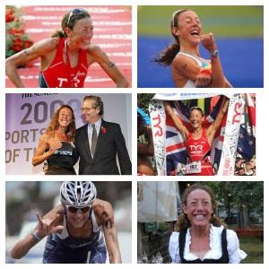 One happy triathlete