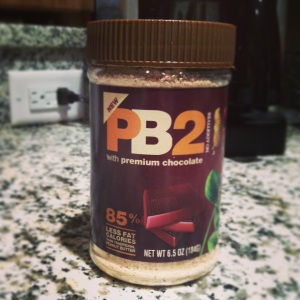 Delicious peanut butter and chocolate