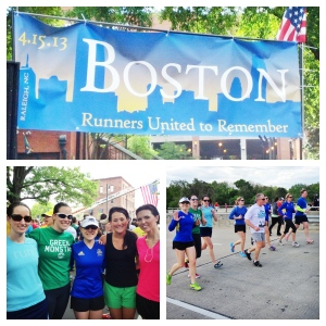 Boston Memorial Run, Raleigh, NC
